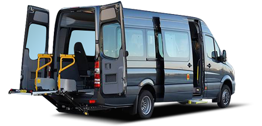 Mercedes Sprinter w/ Wheelchair Accessibility