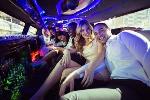 riding in a limousine in new york city for any occasion