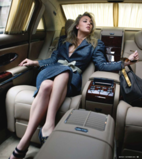 comfortable limo