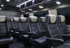 van bus advantage limo